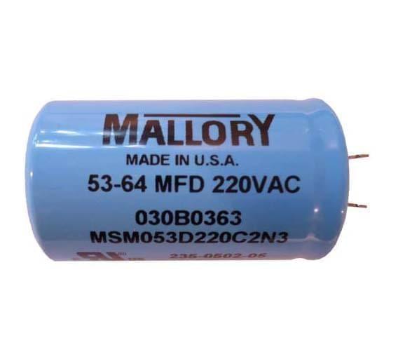53-64uf CD60 220V Start Capacitor fits 1//2 Hp Garage Door Opener 30B363 30B532